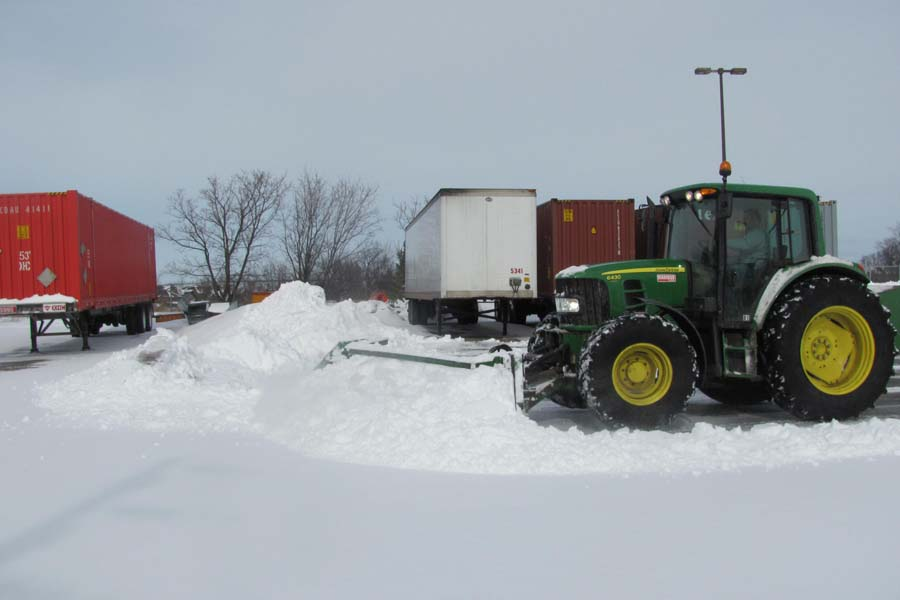 Diamond Groundskeeping Snow And Ice removal
